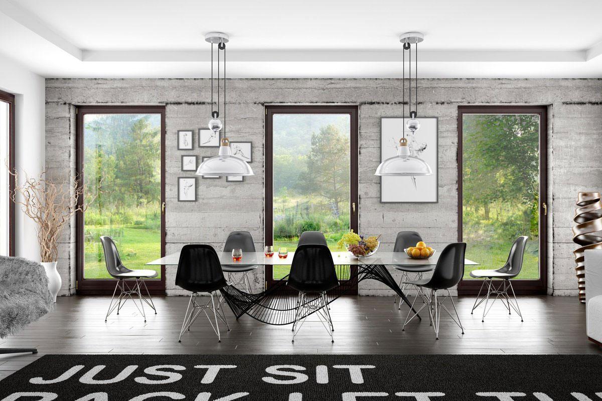 Holzfenster bauelemente martin heinrich for Modernes haus mit holzfenster